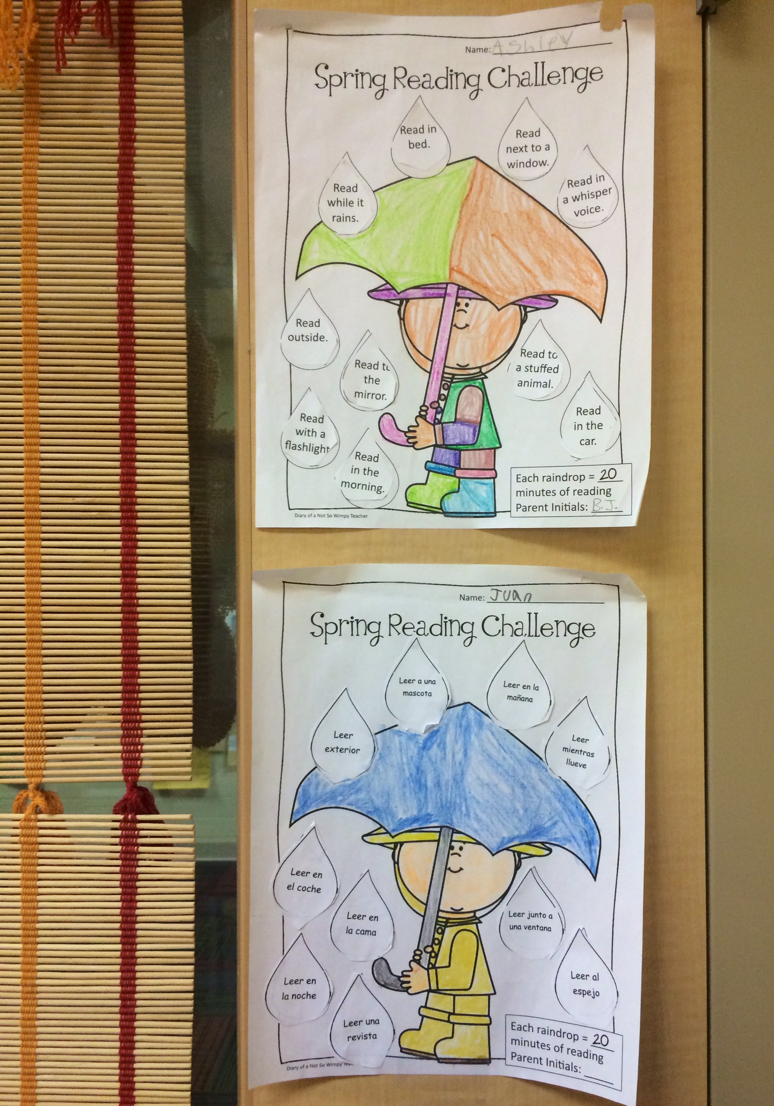 Spring Break Packets Retain Skills While Sharing Learning