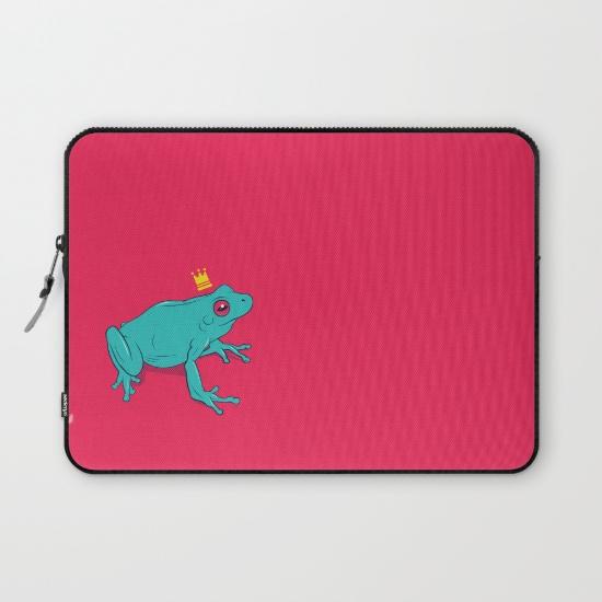 Frog Prince laptop case