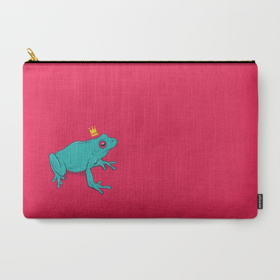 frog prince pouch