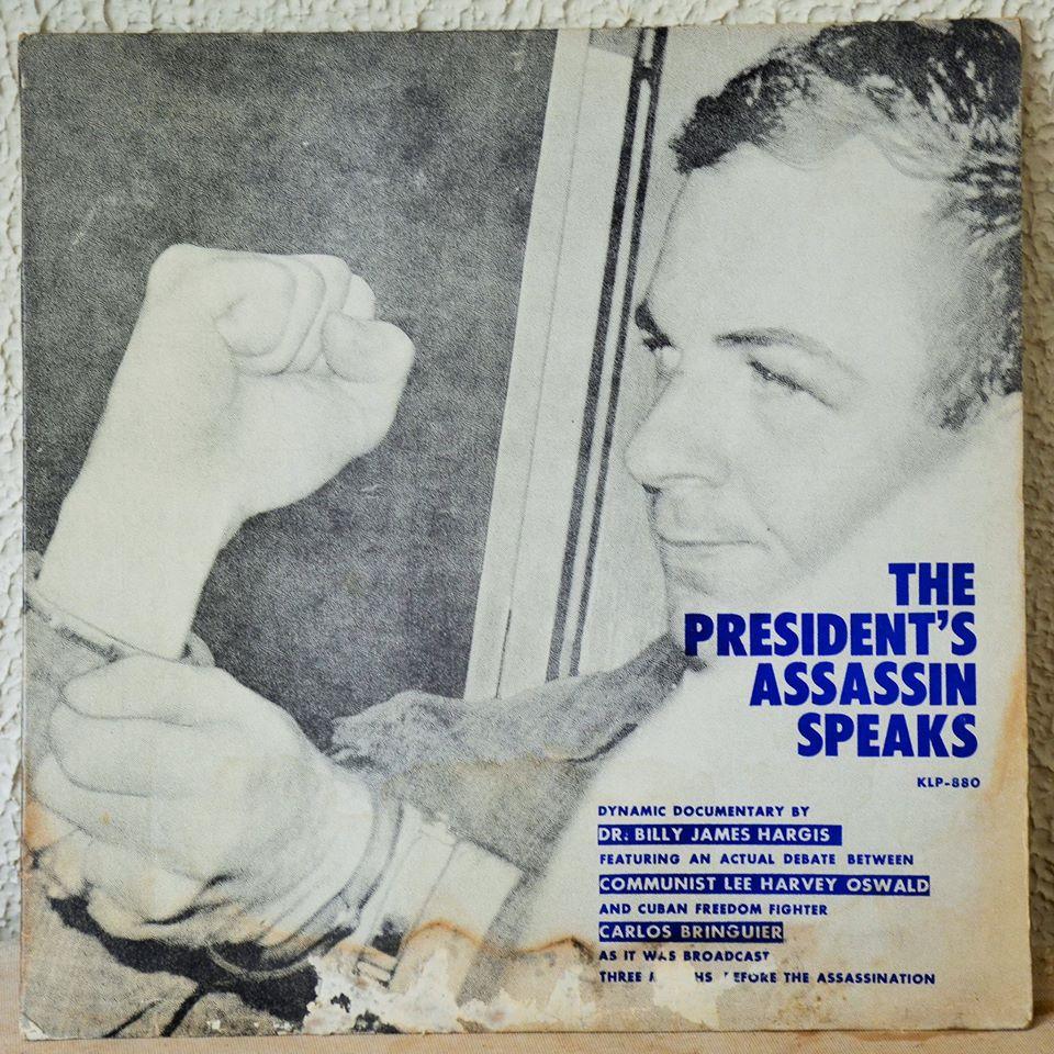 Album cover Inca propaganda album featuring Lee Harvey Oswald
