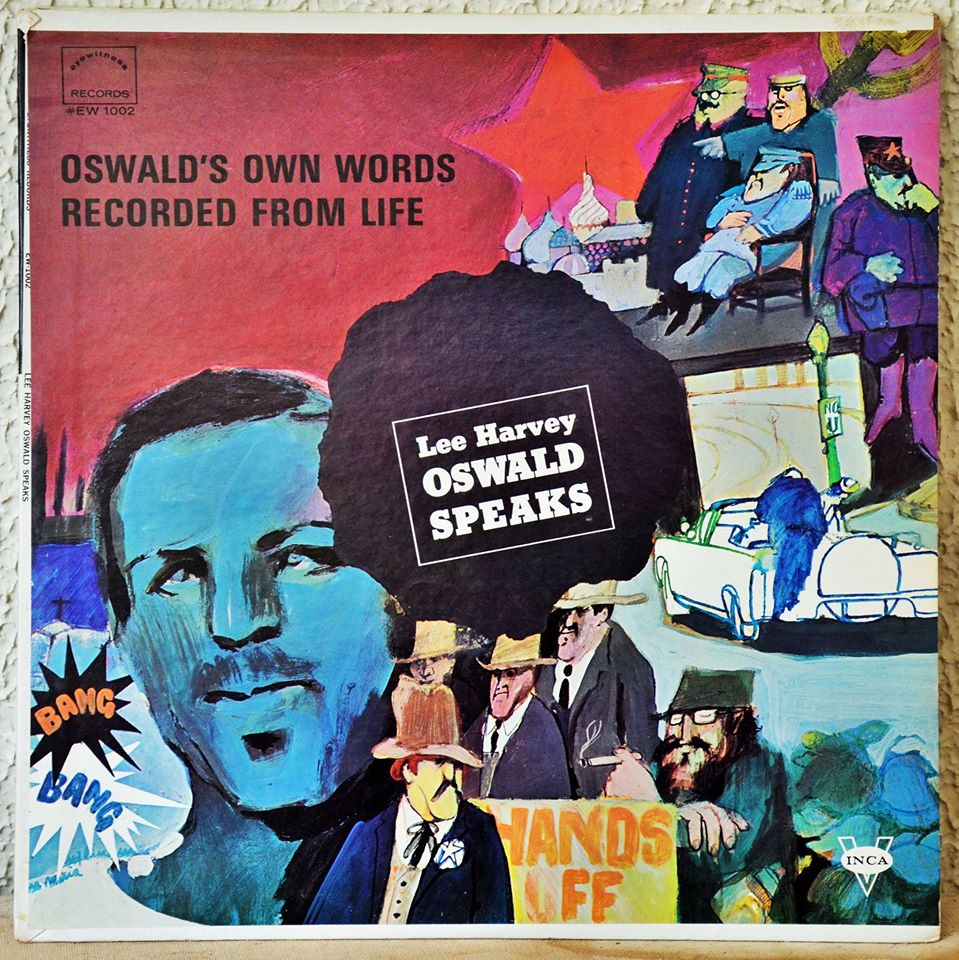 Album cover from Inca propaganda about Lee Harvey Oswald