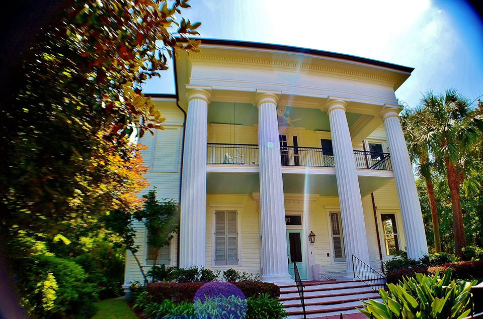 Greek Revival Mansion in the Garden District of New Orleans