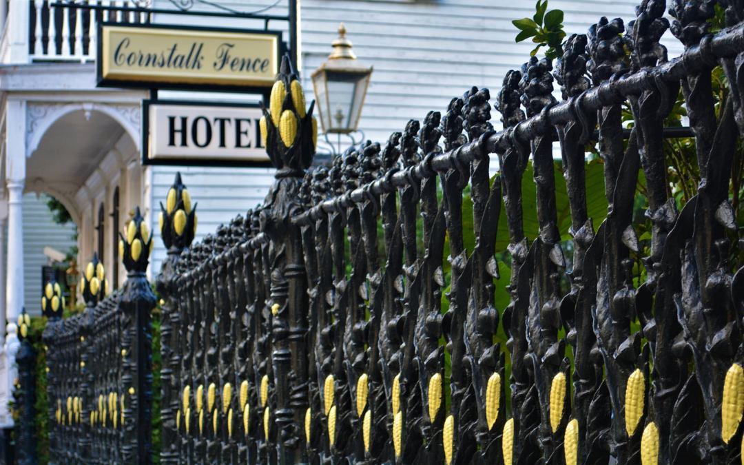 The Legend of the Cornstalk Fence