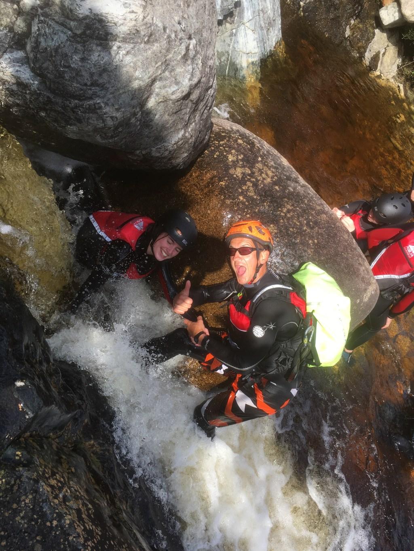 Wet Bouldering