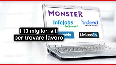 Cerco lavoro online : top 10 siti per cercare lavoro in italia