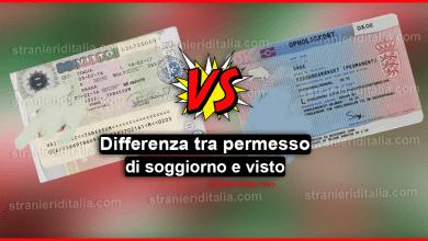 Photo of Differenza tra permesso di soggiorno e visto in Italia