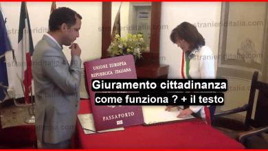 Photo of Giuramento cittadinanza italiana come funziona + il testo