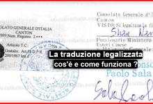 Photo of La traduzione legalizzata che cos'è e come funziona ?