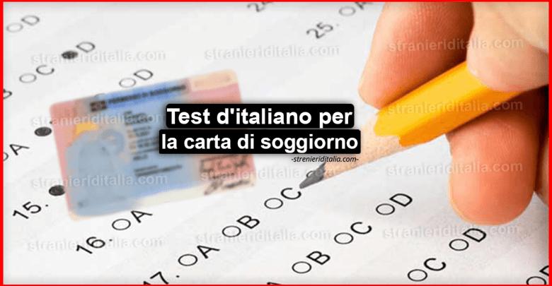 Test d'italiano per la carta di soggiorno - Guida semplice!