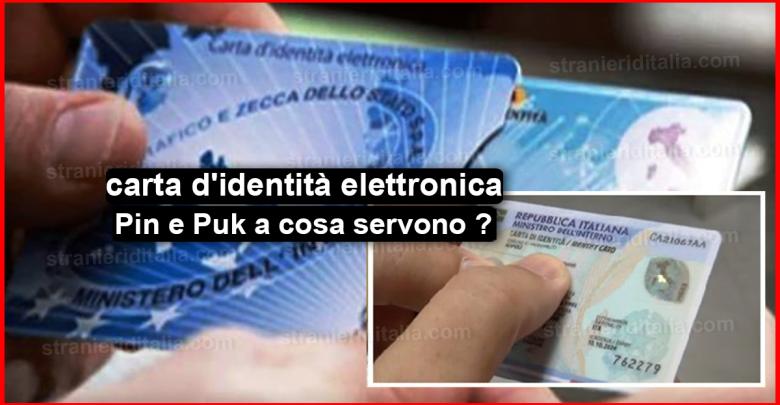 Carta d\'identità elettronica: PIN a cosa serve ?