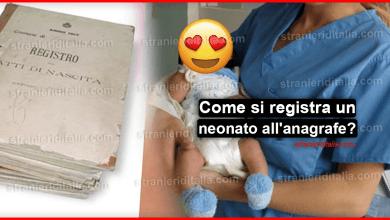 Photo of Come si registra un neonato all'anagrafe?