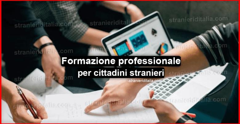 Formazione professionale per cittadini stranieri