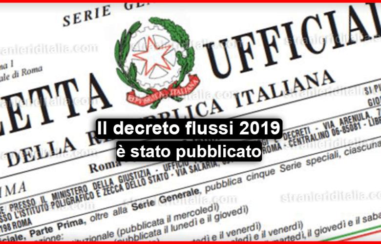Il decreto flussi 2019: il 16 aprile partono le domande !