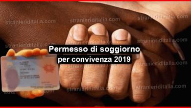 Photo of Permesso di soggiorno per convivenza novità 2019
