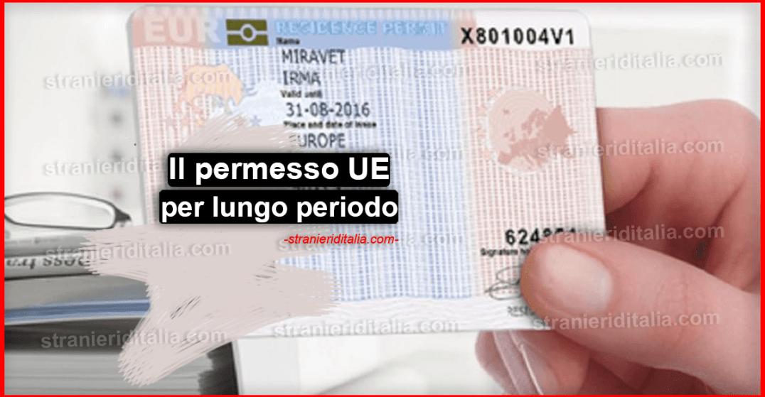 Il permesso UE per soggiornanti di lungo periodo - Domanda ...