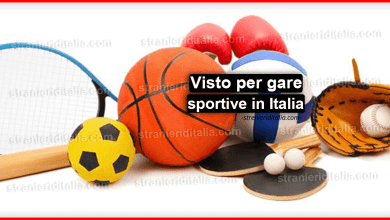 Photo of Visto per gare sportive in Italia : che cos'è e come ottenerne uno?