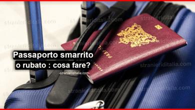 Photo of Passaporto smarrito o rubato : cosa fare in Italia o all'estero?