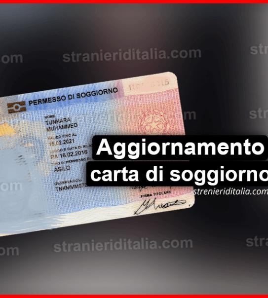 Top Carta Permesso Di Soggiorno Pics - Carolineskywalker.com ...