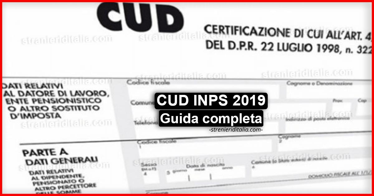 Come scaricare il cud 2018 dal sito inps