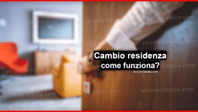 Cambio residenza : come funziona? e riquisiti per farlo