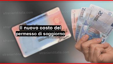 Costo del permesso di soggiorno - Rilascio e Rinnovo!