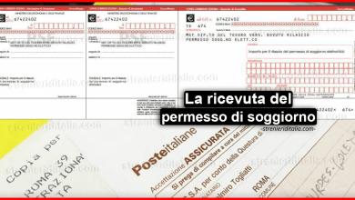 La ricevuta del permesso di soggiorno - Guida semplice 2019