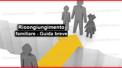 Ricongiungimento familiare con un cittadino italiano