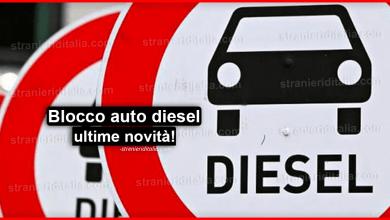 Blocco auto diesel 2020: ultime novità!