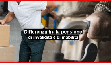 Differenza tra la pensione di invalidità e di inabilità