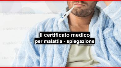 Photo of Il certificato medico per malattia – tutto ciò che devi sapere