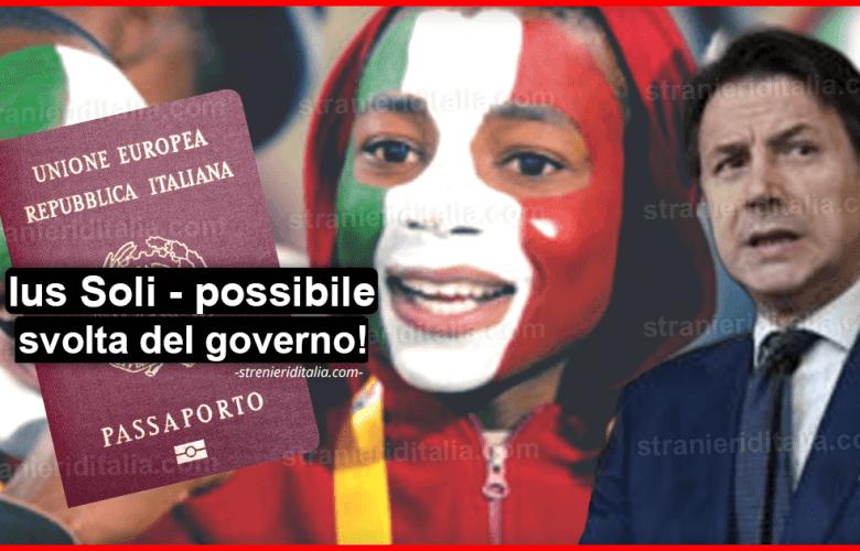 Ius Soli: possibile svolta del governo Giallo-Rosso!