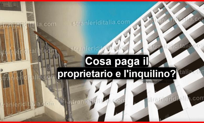 Ripartizione spese condominiali: Cosa paga il proprietario e l'inquilino?