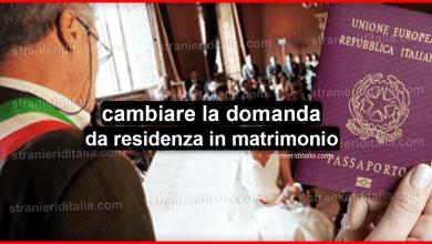 Photo of Cittadinanza: cambiare la domanda da residenza in matrimonio
