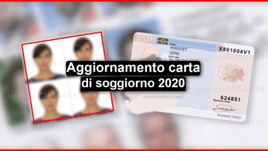 Photo of Aggiornamento carta di soggiorno   Stranieri d'Italia