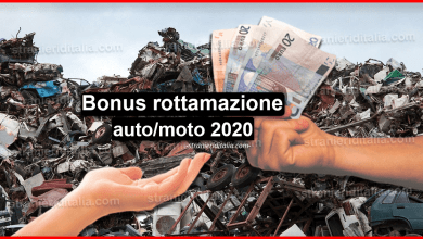 Photo of Bonus rottamazione auto/moto 2020 (decreto clima) | Stranieri d'Italia