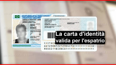 Photo of Carta d'identità valida per l'espatrio | Stranieri d'Italia
