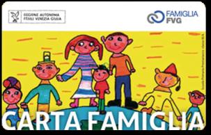 Carta famiglia 2020 Family Card