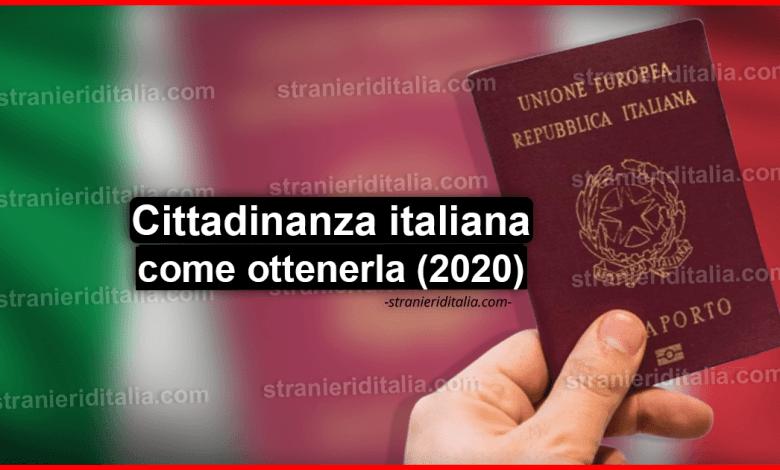 Photo of Cittadinanza italiana (come ottenerla) | Stranieri d'Italia