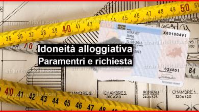 Photo of Idoneità alloggiativa 2020 (Paramentri e richiesta) | Stranieri d'Italia