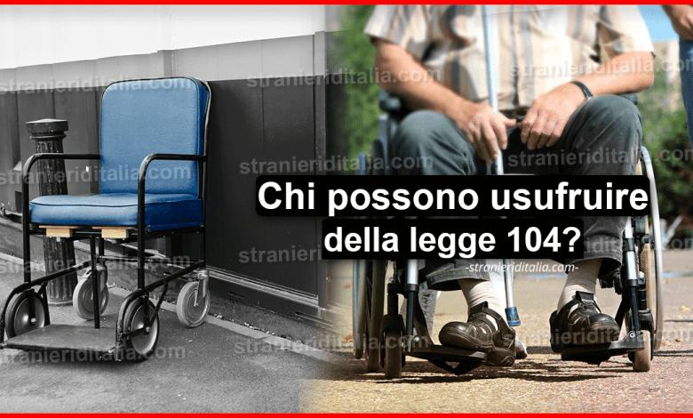 Legge 104: come funziona e requisiti per il 2020   Stranieri d'Italia