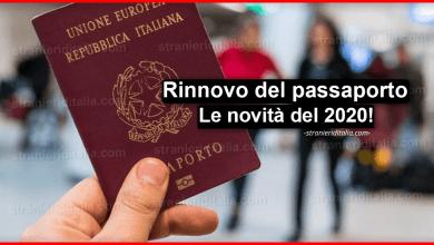 Photo of Rinnovo del passaporto 2020: Le novità!   Stranieri d'Italia