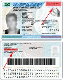 Numero Carta D Identita Elettronica Stranieri D Italia