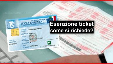 Photo of Esenzione ticket 2020 (cos'è e come si richiede) | Stranieri d'Italia