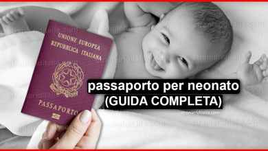 Photo of Come fare passaporto per neonato? (GUIDA COMPLETA)