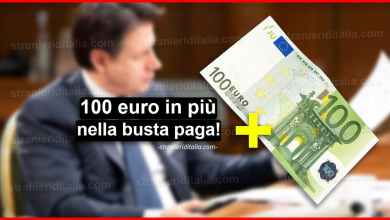 Photo of Decreto Coronavirus: 100 euro in più nella busta paga!