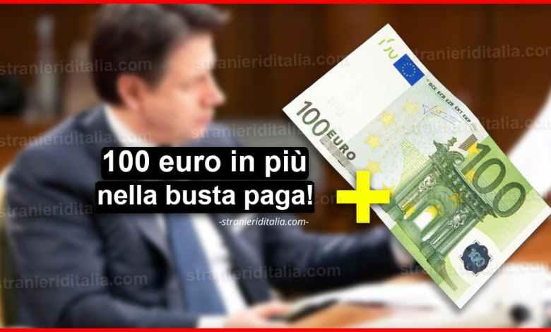 Decreto Coronavirus: 100 euro in più nella busta paga!