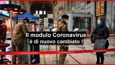 Photo of Nuovo modulo Autocertificazione Coronavirus: aggiornamento al 26 marzo