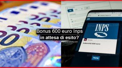 """Photo of Bonus 600 euro """"In attesa di esito""""? Vediamo cosa significa"""