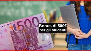 Photo of Coronavirus: Bonus di 500 euro per le rate del mutuo e per gli studenti