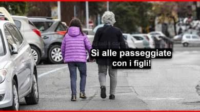 Photo of Novità Coronavirus: Sì a passeggiata genitore-figli, disabili e anziani!